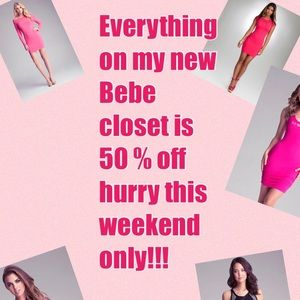 SALE! 50 % off everything this weekend only!